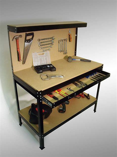garage tool bench heavy duty garage workshop work bench station pegboard