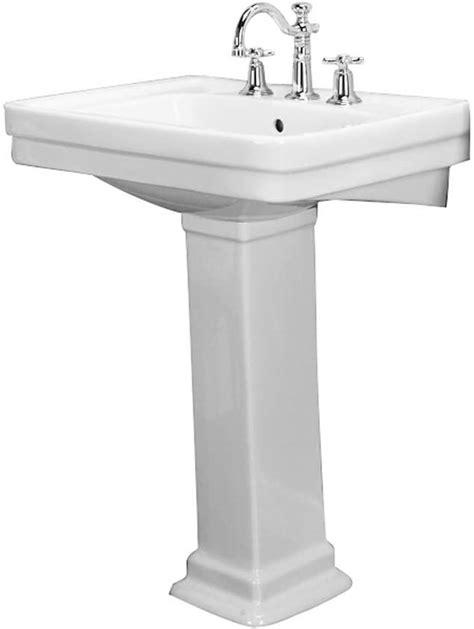 barclay sussex  pedestal lavatory cc pedestal sinks