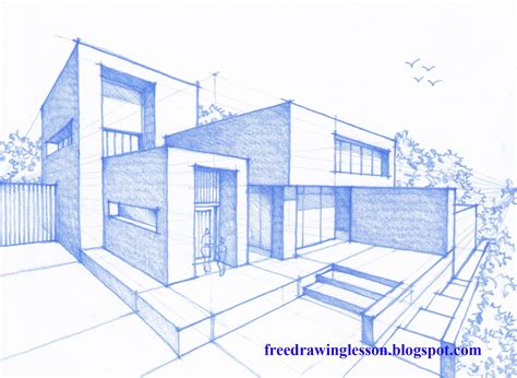 home design drawing let us try to draw this house design by following the step by step process in the
