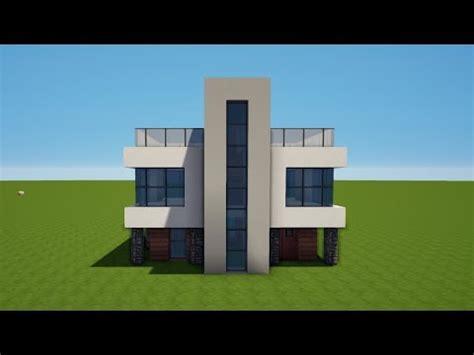 Modernes Minecraft Haus Bauen Tutorial [haus 65] Youtube