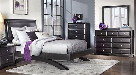 10810 bedroom sets with mattress belcourt black 5 pc platform bedroom bedroom