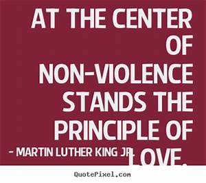 Martin Luther King Quotes On Violence. QuotesGram