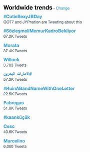 GOT7's JB Tops Worldwide Trends On Twitter As Fans ...