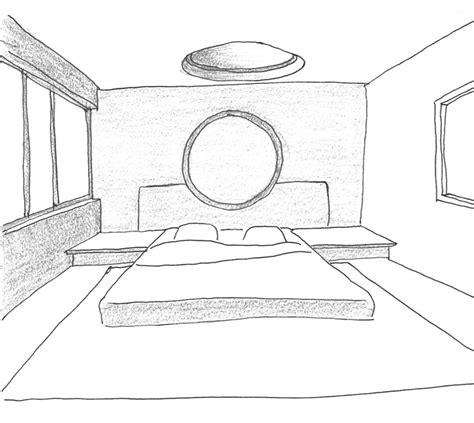 chambre en perspective dessin dessiner sa chambre en perspective chaios com