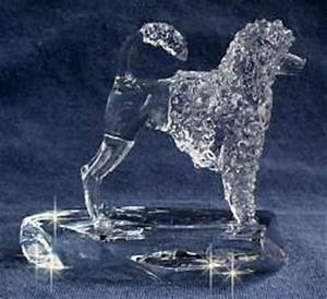 Portuguese Water Dog in Lion Cut Handsculpted Crystal ...