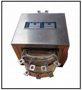 Single Phase Multi Tap Transformer  0 6 Kva  1000 Hz  P  N
