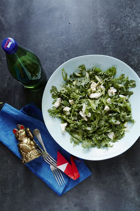 lan ma tou salad chrysanthemum salads packing lunch tofu recipe worth holmes christina credit