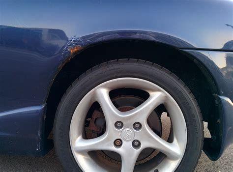 rust repair panel rear