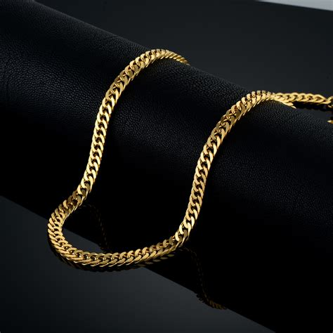 aliexpress buy new arrival 18k real gold plated aliexpress buy vintage gold chain for men chain