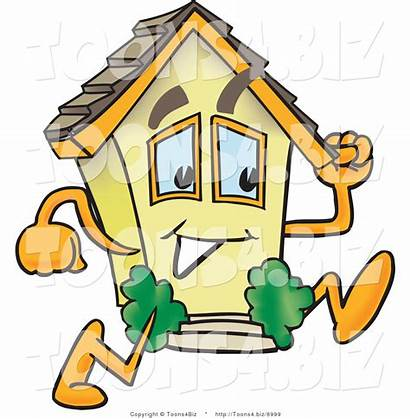 Mobile Cartoon Clipart Homes Running Fast Vector