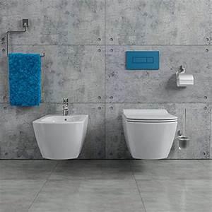 Hänge Wc Randlos : kerabad design keramik wand h nge wc toilette randlos bidet inkl wc sitz aus duroplast mit ~ A.2002-acura-tl-radio.info Haus und Dekorationen