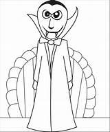 Vampire Coloring Printable sketch template