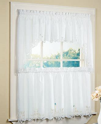 Battenburg Lace Cafe Curtains by Chf Peri Battenburg Window Treatment Collection Window