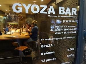 Gyoza Bar Paris : gyoza bar restaurant paris 2e gyoza bar paris 2e pour une petite faim le blog de gilles ~ Voncanada.com Idées de Décoration