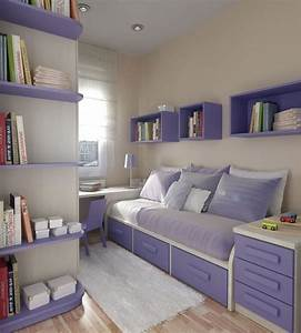Teenage Bedroom Ideas: Small Bedroom Inspiration with ...