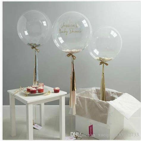 5 12 18 36 inch confetti balloons giant clear balloons party wedding party decorations birthday