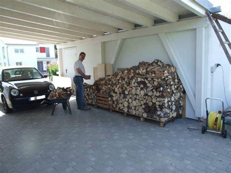 Holz Stapeln Garage by Wir Bauen Ein Holz100 Haus