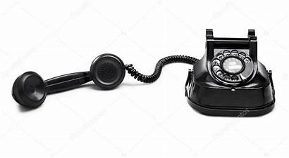 Telephone Clipping Dial Path Oude Knippen Weg