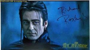 Richard Roxburgh autograph collection entry at StarTiger