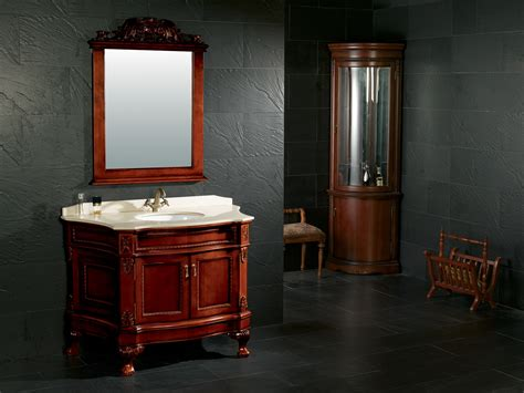 Solid Wood Bathroom Cabinet by Maple Solid Wood Bathroom Cabinet With Mirror