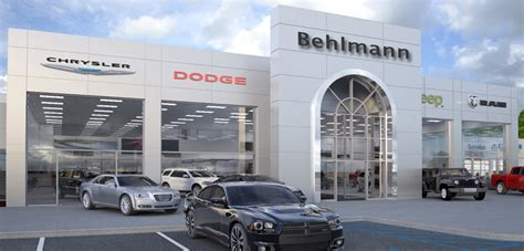 Chrysler Service Centers by Behlmann Automotive Service Department New Used Car