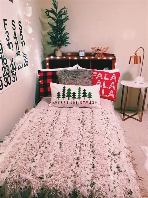 christmas decorations  bedroom ideas