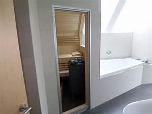 Kleine Sauna Fürs Badezimmer : sauna badezimmer ~ Lizthompson.info Haus und Dekorationen