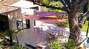 toile d ombrage pour terrasse beautiful mt pour voile With toile tendue exterieur terrasse 8 mat inox pour toile tendue sur mesure