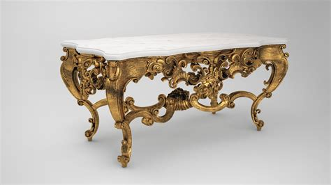 Baroque Table By Trisquote On Deviantart