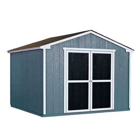 outdoor sheds home depot handy home products installed princeton 10 ft x 10 ft