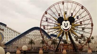 Disneyland Disney Park Animated Mickey Wheel Gifs