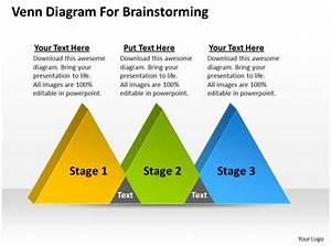 Business Strategy Venn Diagram For Brainstorming