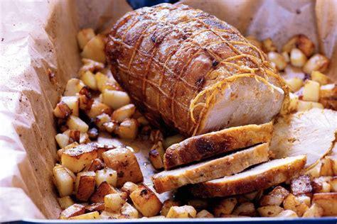 varkensrollade met knoflookspinazie recept allerhande albert heijn