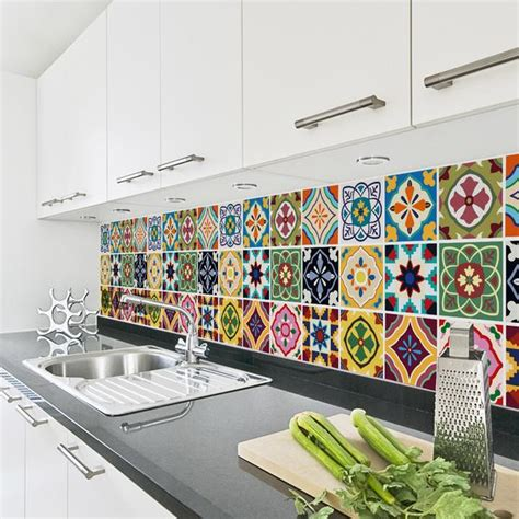 tile transfers for kitchen talavera tile decals tile stickers set for kitchen and 6191