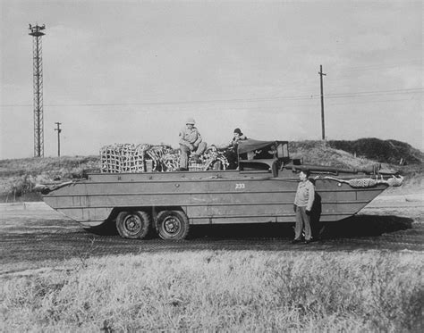 hibious vehicle duck the dukw amphibious truck aviation and military history