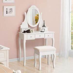 Coiffeuse Sans Miroir : coiffeuse blanche achat vente coiffeuse blanche pas cher cdiscount ~ Teatrodelosmanantiales.com Idées de Décoration