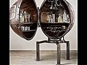 Minibar Für Wohnzimmer : minibar aus metall f r das wohnzimmer im industriellen look youtube ~ Orissabook.com Haus und Dekorationen