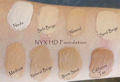 nyx hd studio photogenic foundation