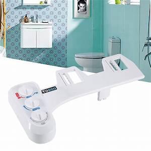 Toilette Auf Spanisch : toilet spray gun flusher fresh water non electric mechanical bidet toilet attachment self ~ Buech-reservation.com Haus und Dekorationen