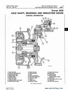 John Deere Jd755 Crawler Loader Tm1137 Technical Manual