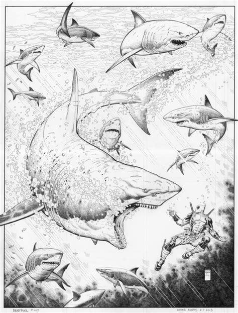 Deadpool #9 Cover by Arthur Adams | Xmen art, Cool artwork