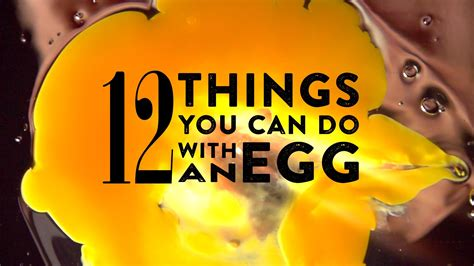 things you can make with eggs 12 things you can do with an egg youtube