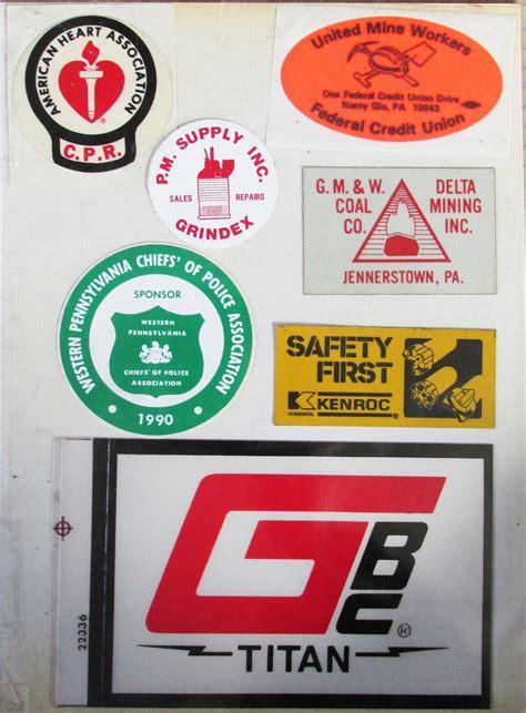 still more mining stickers coal mining mining equipment