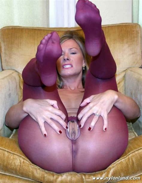 Great Milf In Crotchless Pantyhose Girls In Pantyhose
