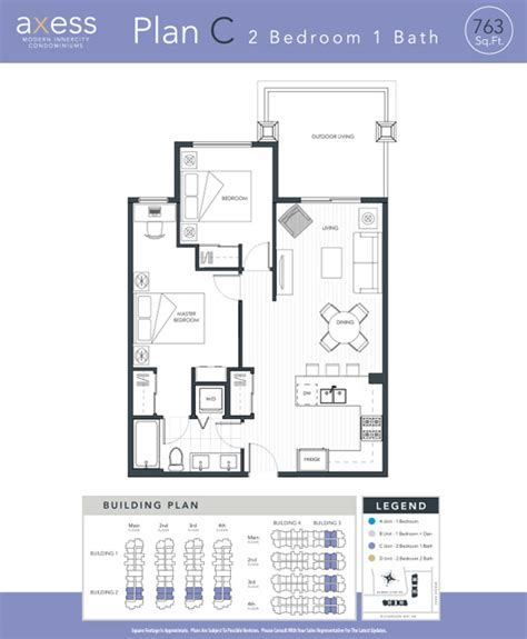 2 bedroom 1 bath condos downtown currie mount royal 13924 | condo floor plan 2 bedrooms 1 bathroom