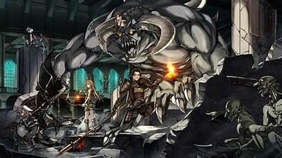 Horns Anime Swords Armor Demons Ears Wallpapers