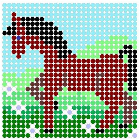 cool perler bead patterns hative