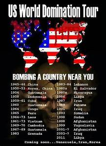 US World Domination Tour – Bombing a Country Near You ...