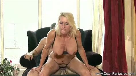 Chubby Dutch Blonde Milf Rides Cock In Holland Redtube