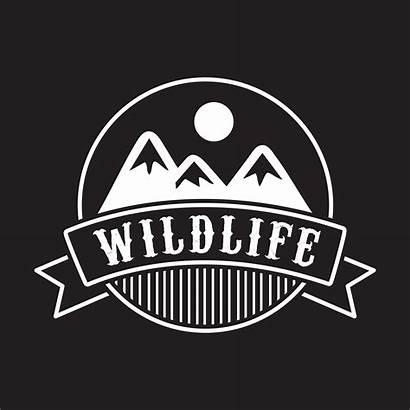 Adventure Badge Vector Logos Forest Camp Mountain